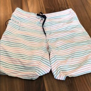 Patagonia striped board shorts